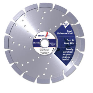 Mi750 Diamond Blade Long Life Universal Cut 115 x 22.2mm
