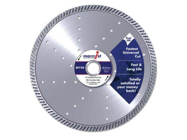 BF750 Diamond Blade Fast Precision Cut 115 x 22.2mm