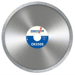 CK350 Smooth Rim Diamond Blade Tile Cut 125 x 22.2mm
