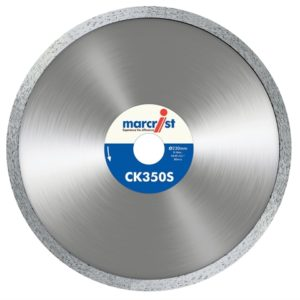 CK350 Smooth Rim Diamond Blade Tile Cut 180 x 22.2mm