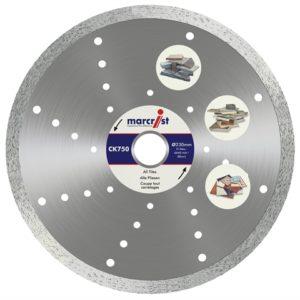 CK750 Turbo Rim Diamond Blade Fast Cut 115 x 22.2mm