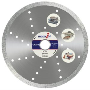 CK750 Turbo Rim Diamond Blade Fast Cut 180 x 22.2mm