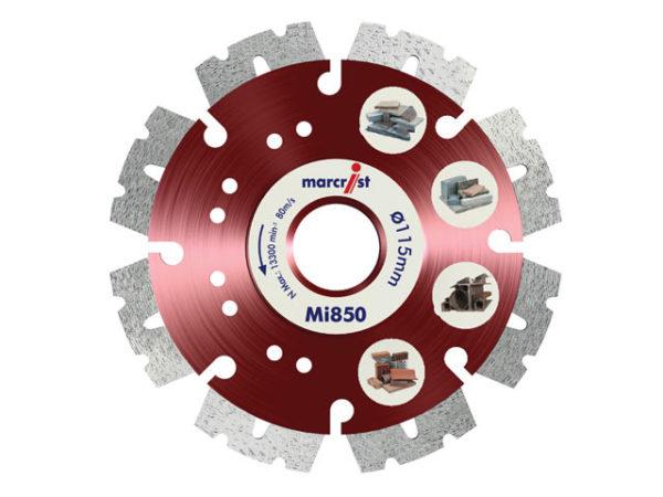 Mi850 Fastest Universal Cut Diamond Blade 115 x 22.2mm