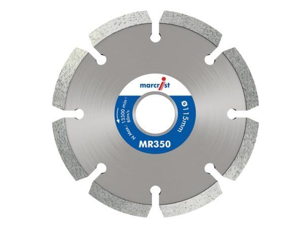 MR350 Trade Mortar Rake Diamond Blade 115 x 22.2mm