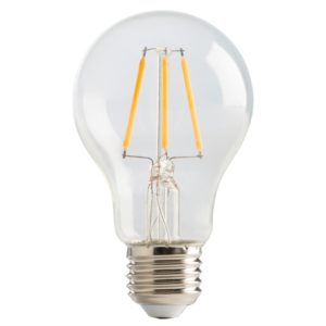 LED ES (E27) Clear Classic Filament Non-Dimmable Bulb 2700K 810 lm 6W