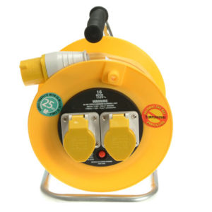 Cable Reel 25m 16A 110V Thermal Cut-Out
