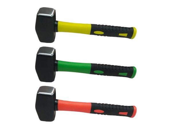 Hi-Vis Fibreglass Club Hammer 1.1kg (2.5lb)