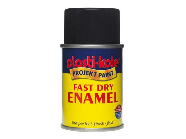 Fast Dry Enamel Aerosol Matt Black 100ml
