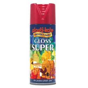 Super Spray Gloss Bright Red 400ml