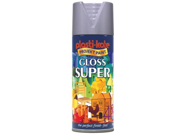 Super Spray Gloss Aluminium 400ml