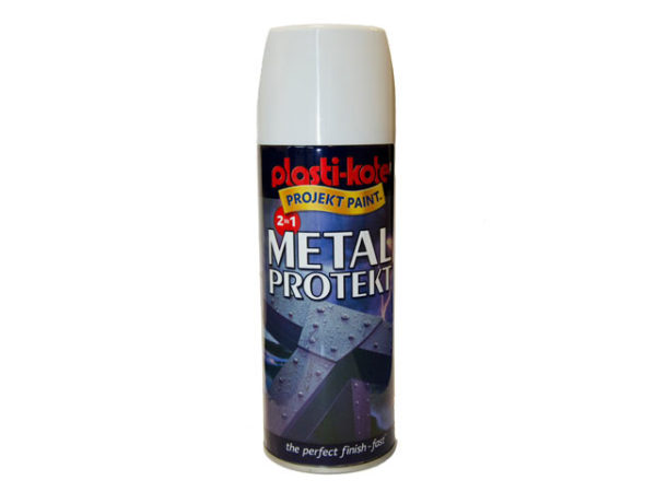 Metal Protekt Spray Gloss White 400ml