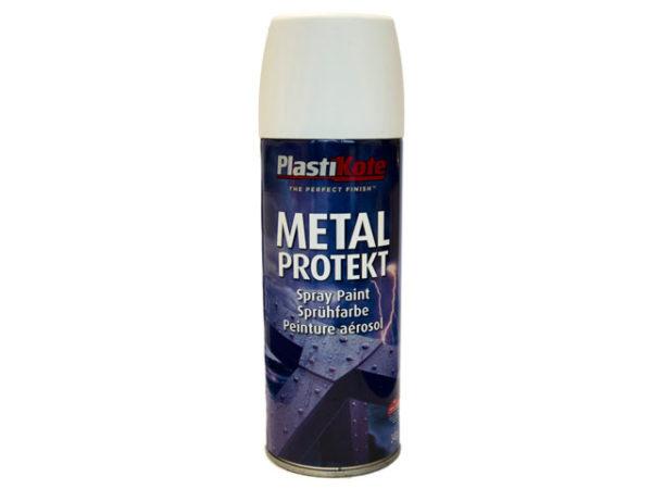 Metal Protekt Spray Satin White 400ml