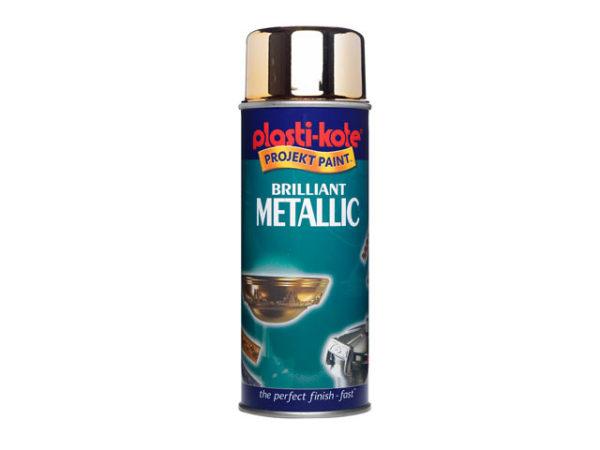 Brilliant Metallic Spray Gold 400ml