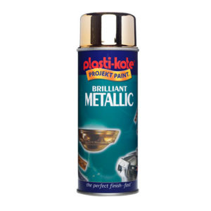 Brilliant Metallic Spray Silver 400ml