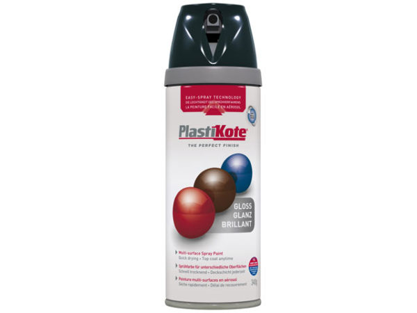 Twist & Spray Gloss Black 400ml