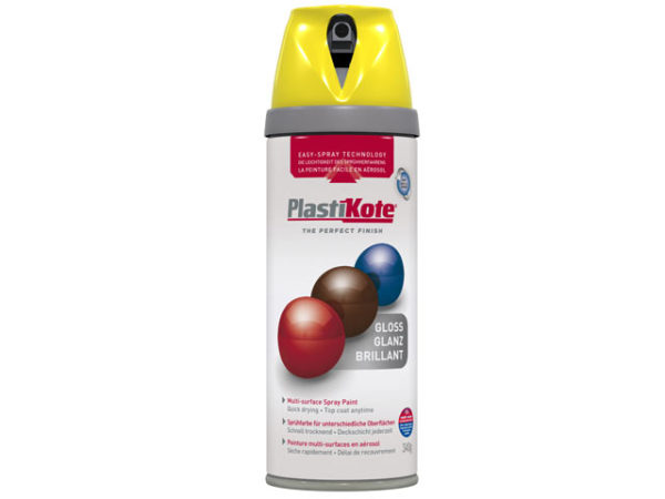 Twist & Spray Gloss New Yellow 400ml