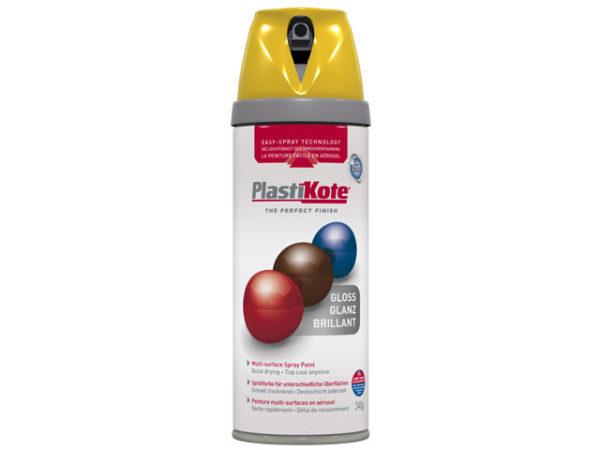 Twist & Spray Gloss Yellow 400ml