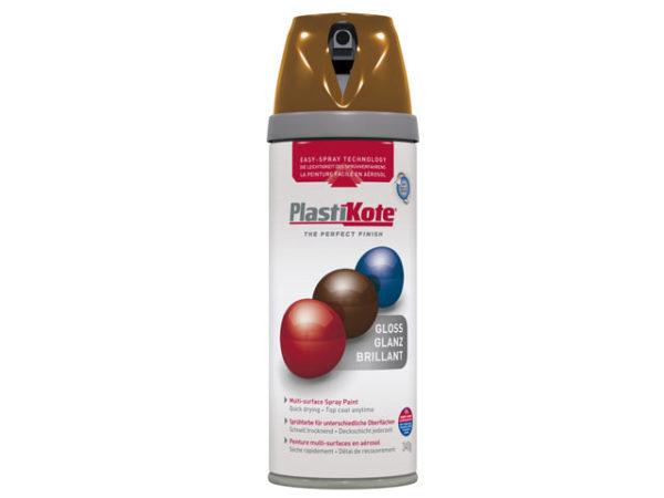 Twist & Spray Gloss Chestnut Brown 400ml