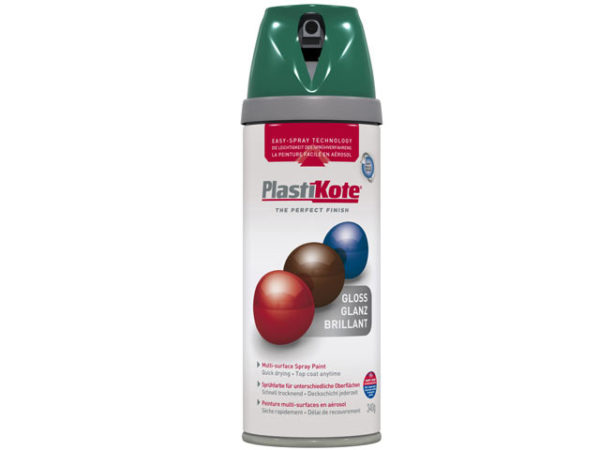 Twist & Spray Gloss Lawn Green 400ml