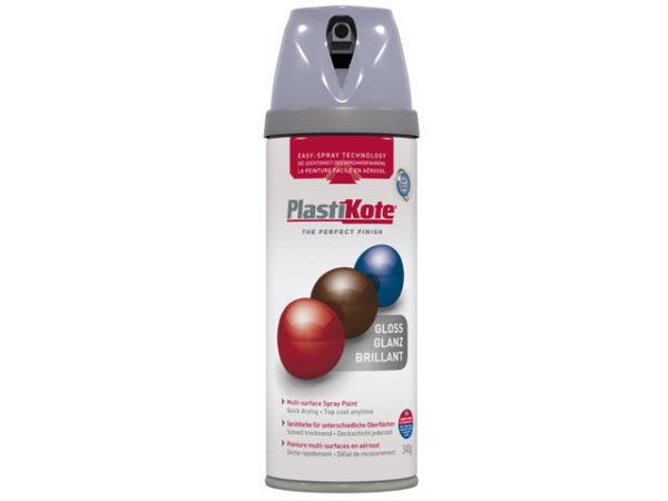 Twist & Spray Gloss Aluminium 400ml