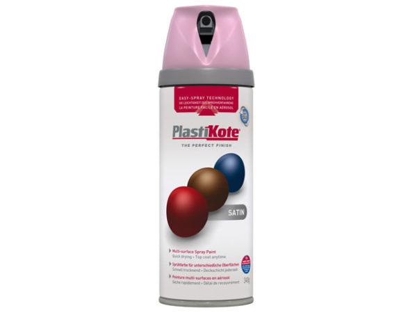 Twist & Spray Satin Cameo Pink 400ml