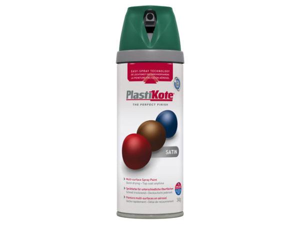 Twist & Spray Satin Hunter Green 400ml