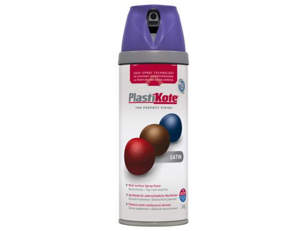 Twist & Spray Satin Sumptuous Purple 400ml