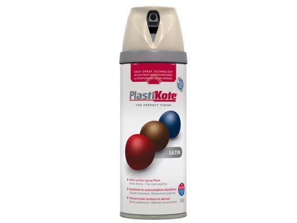 Twist & Spray Satin Warm Grey 400ml