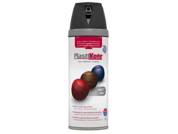 Twist & Spray Matt Black Plum 400ml