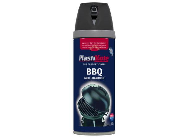 Twist & Spray BBQ Paint Black 400ml