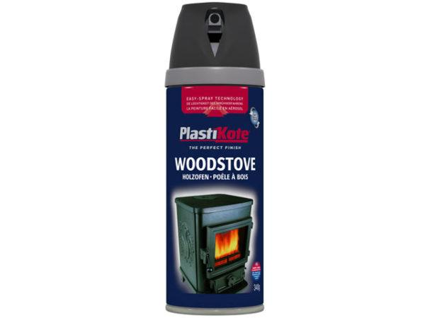 Twist & Spray Woodstove Paint Black 400ml