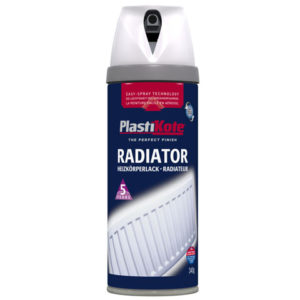 Twist & Spray Radiator Satin White 400ml