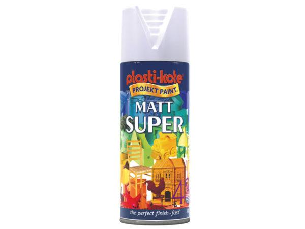 Super Matt Spray White 400ml