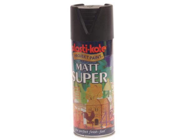 Super Matt Spray Black 400ml