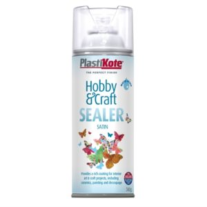 Hobby & Craft Sealer Spray Clear Satin 400ml