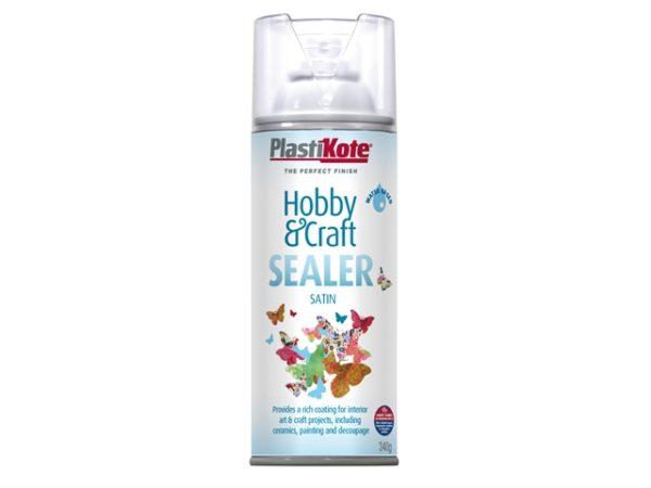Hobby & Craft Sealer Spray Clear Satin 400ml