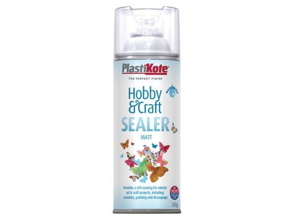 Hobby & Craft Sealer Spray Clear Matt 400ml