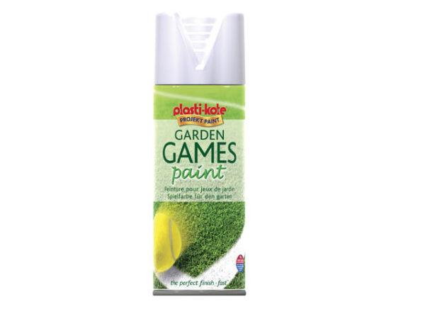 Garden Games Spray Paint White 400ml