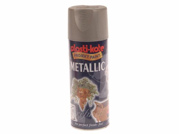 Metallic Spray Brushed Nickel 400ml