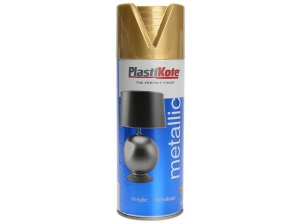 Metallic Spray Brass 400ml