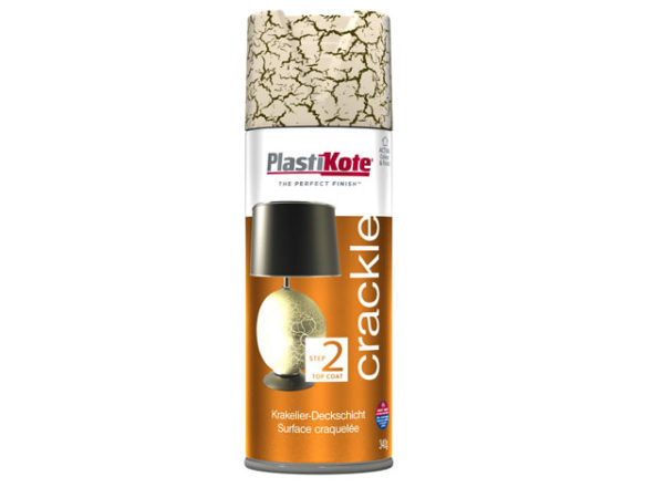 Crackle Touch Spray Heritage Gold Top Coat 400ml
