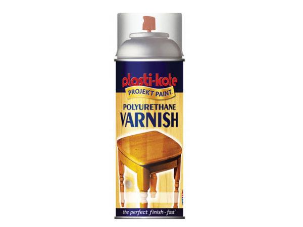 Varnish Spray Clear Satin 400ml