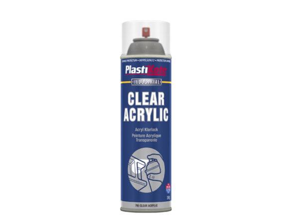 Industrial Spray Clear Acrylic 500ml