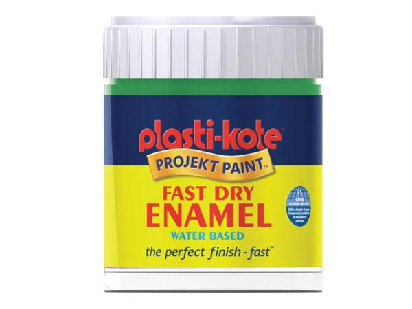 Fast Dry Enamel Paint B4 Bottle Gloss White 59ml