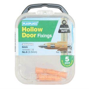 DR 106 Hollow Door Fixings (5)