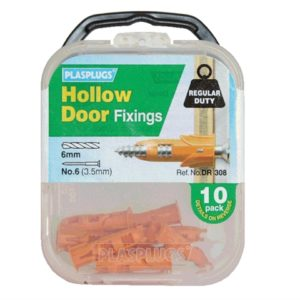 DR 308 Hollow Door Fixings (10)