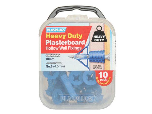 HCF110 Heavy-Duty Plasterboard Fixings (10)