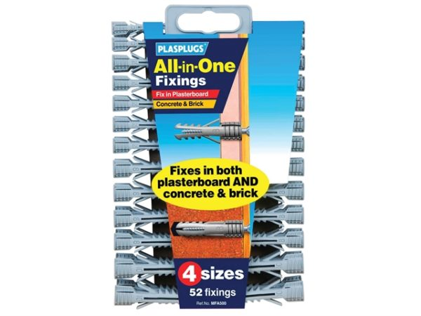 MFA 500 All-In-One Fixings Assorted (52)