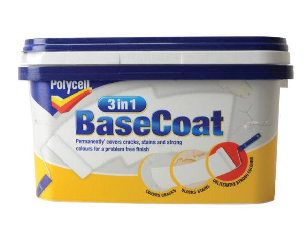 3 in 1 BaseCoat 2.5 Litre