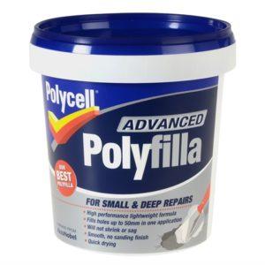 Polyfilla Advance All In One Tub 600ml